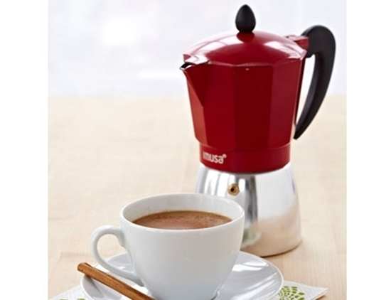 Picture Of Aluminum Coffee Maker 3 Cup Imusa